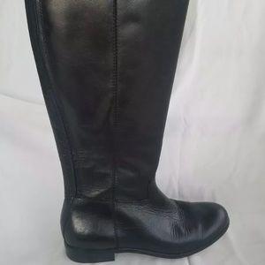 Corso Como black leather boots